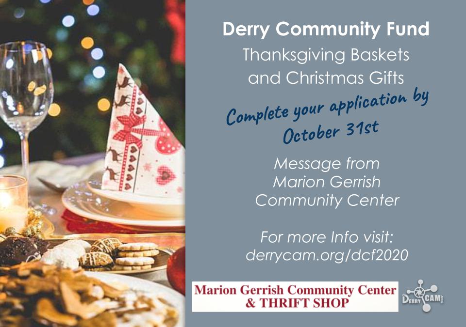 Derry Community Fund 2020